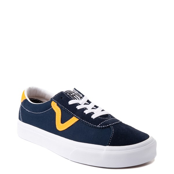 alternate view Vans Sport Skate Shoe - Dress Blues / SaffronALT5