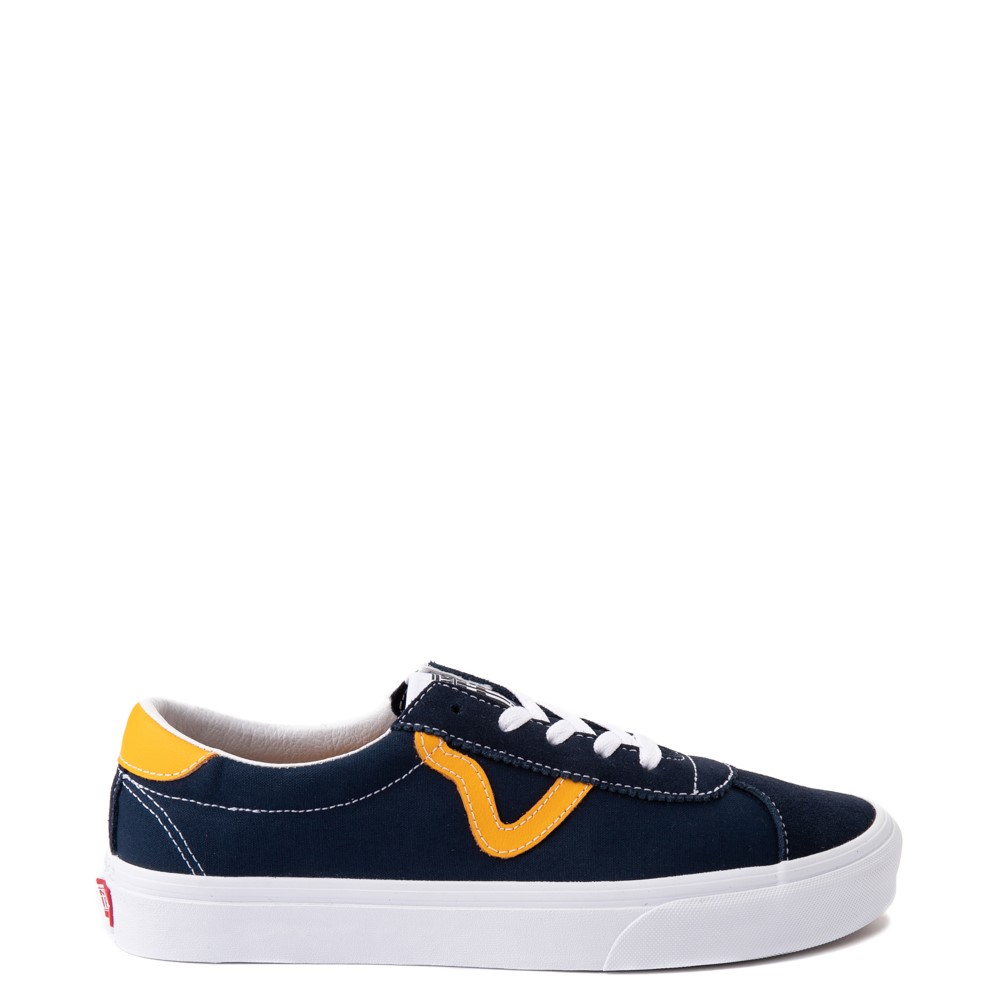Vans Sport Skate Shoe - Dress Blues / Saffron