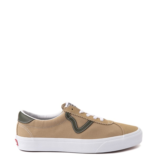 Main view of Vans Sport Skate Shoe - Cornstalk / Leaf Green
