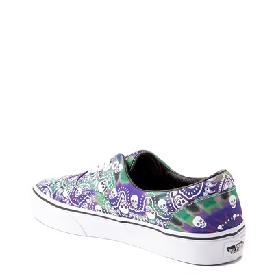 Alternate view of Vans Era Bandana Skate Shoe - Purple Tie Dye
