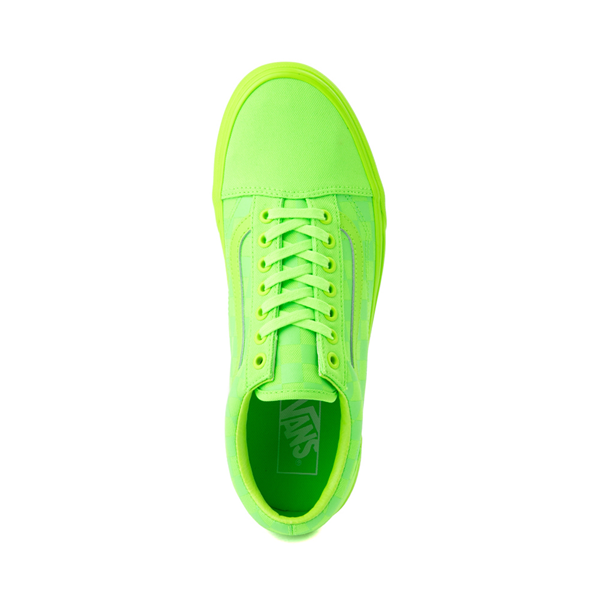 alternate view Vans Old Skool Tonal Checkerboard Skate Shoe - Green GeckoALT2