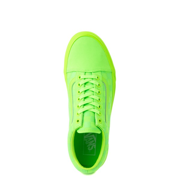 alternate view Vans Old Skool Tonal Checkerboard Skate Shoe - Green GeckoALT4B