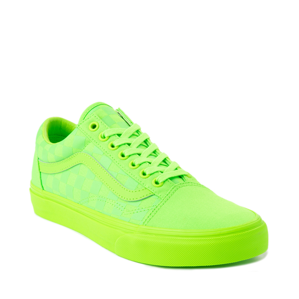 alternate view Vans Old Skool Tonal Checkerboard Skate Shoe - Green GeckoALT5