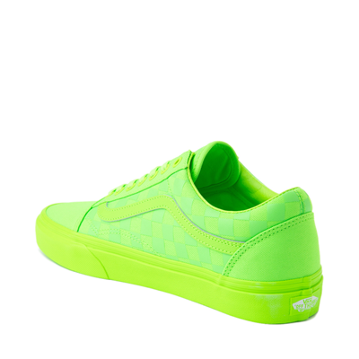 Alternate view of Vans Old Skool Tonal Checkerboard Skate Shoe - Green Gecko