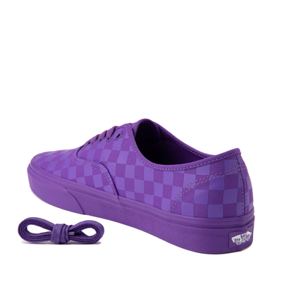 Alternate view of Vans Authentic Tonal Checkerboard Skate Shoe - Electric Purple