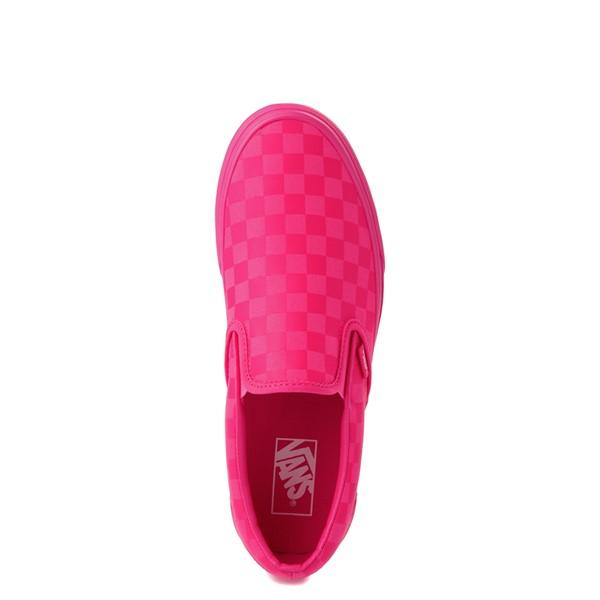 alternate view Vans Slip On Tonal Checkerboard Skate Shoe - Pink GlowALT4B