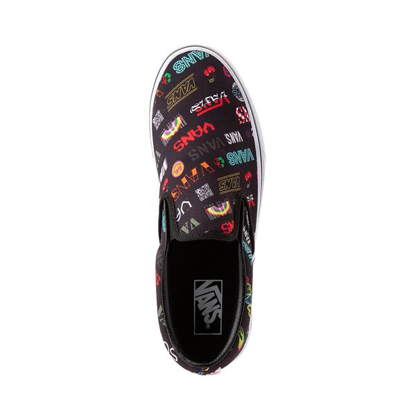 alternate view Vans Disruptive Classic Slip On Skate Shoe - BlackALT2