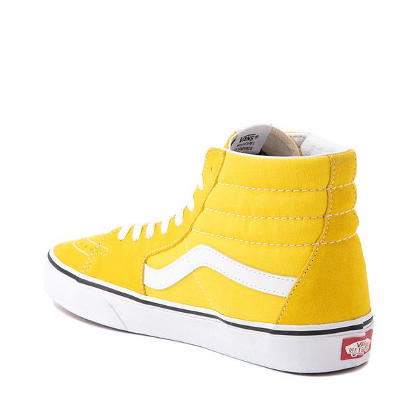 alternate view Vans Sk8 Hi Skate Shoe - Cyber YellowALT1