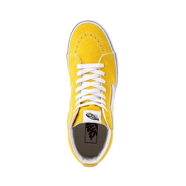 alternate view Vans Sk8 Hi Skate Shoe - Cyber YellowALT2