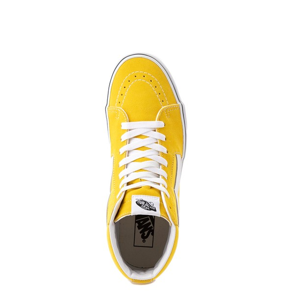 alternate view Vans Sk8 Hi Skate Shoe - Cyber YellowALT4B