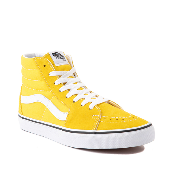 alternate view Vans Sk8 Hi Skate Shoe - Cyber YellowALT5