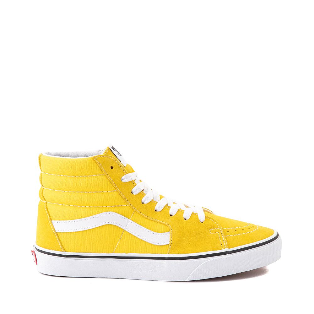 Vans Sk8 Hi Skate Shoe - Cyber Yellow