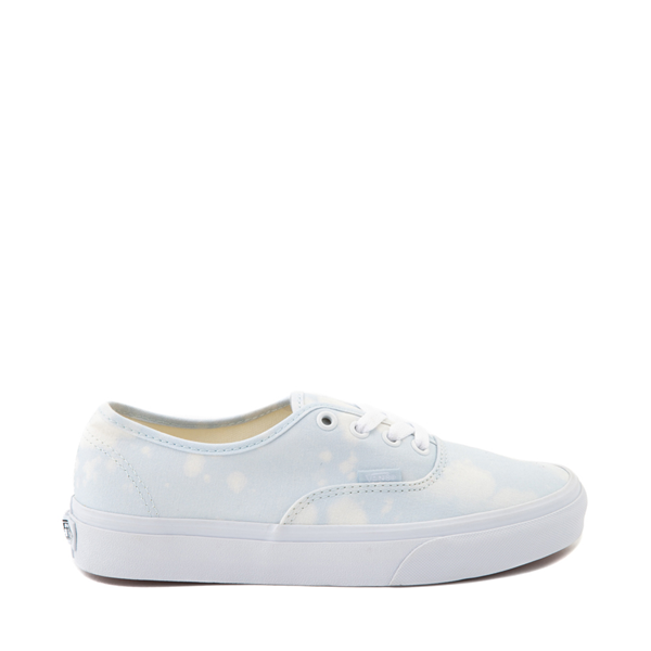 Main view of Vans Authentic Bleach Wash Skate Shoe - Ballad Blue