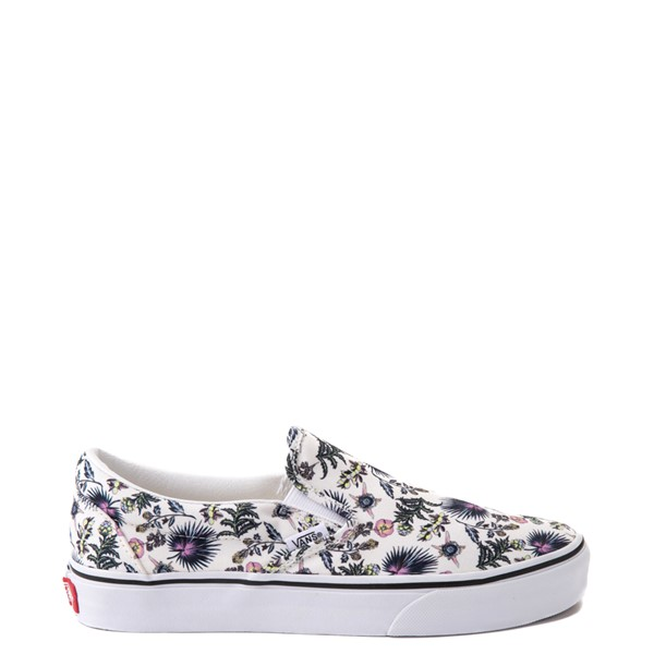 Vans Slip On Skate Shoe - White / Paradise Floral