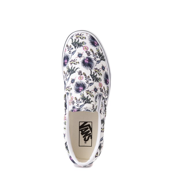 alternate view Vans Slip On Skate Shoe - White / Paradise FloralALT2