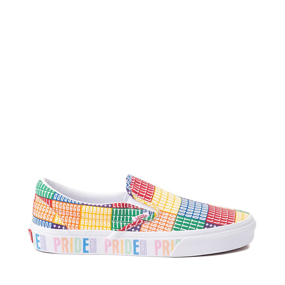 Vans Slip On Pride Skate Shoe - Multicolor