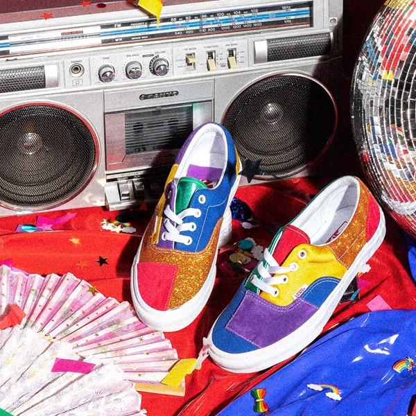 alternate view Vans Era Pride Patchwork Skate Shoe - MulticolorALT1B