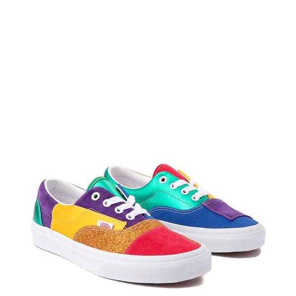 alternate view Vans Era Pride Patchwork Skate Shoe - MulticolorALT5