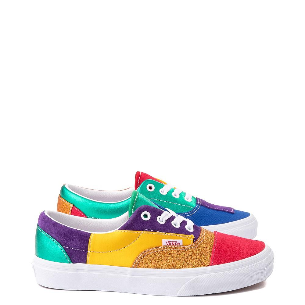 Vans Era Pride Patchwork Skate Shoe - Multicolor
