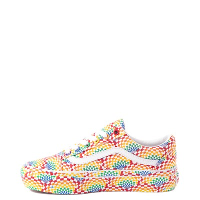 Alternate view of Vans Old Skool Pride Platform Skate Shoe - Rainbow