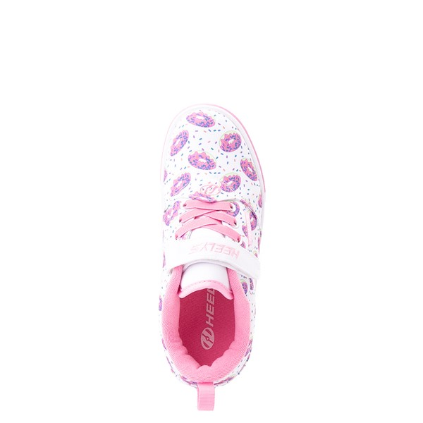 alternate view Heelys Pro 20 Donut Skate Shoe - Little Kid / Big Kid - White / PinkALT2