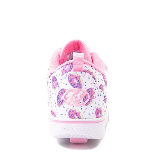alternate view Heelys Pro 20 Donut Skate Shoe - Little Kid / Big Kid - White / PinkALT4