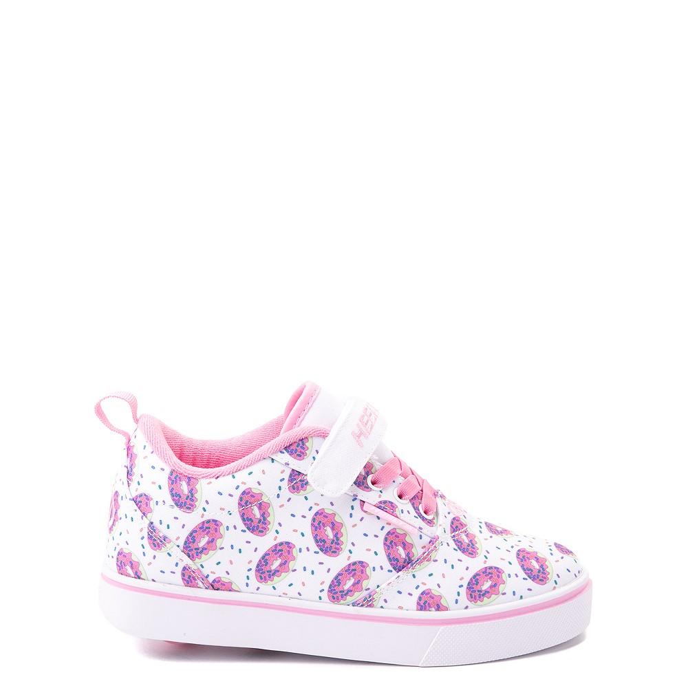 Heelys Pro 20 Donut Skate Shoe - Little Kid / Big Kid - White / Pink