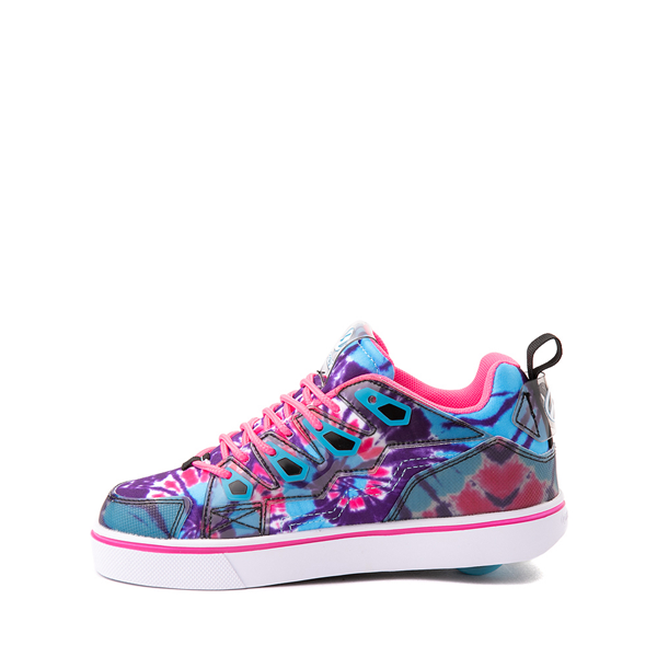 alternate view Heelys Tracer Skate Shoe - Little Kid / Big Kid - Blue / Neon Pink Tie DyeALT1
