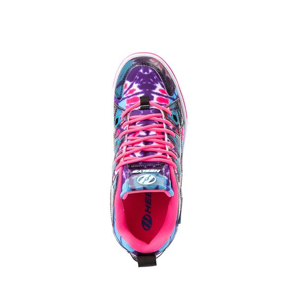alternate view Heelys Tracer Skate Shoe - Little Kid / Big Kid - Blue / Neon Pink Tie DyeALT2