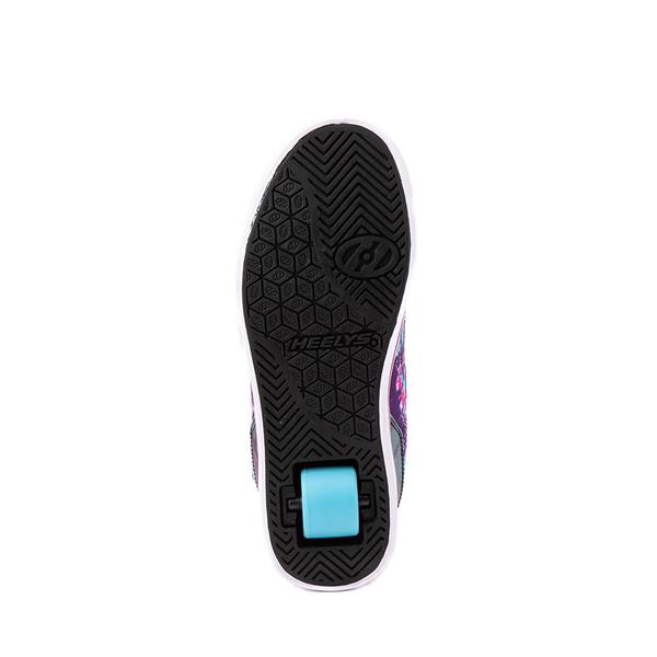 alternate view Heelys Tracer Skate Shoe - Little Kid / Big Kid - Blue / Neon Pink Tie DyeALT3