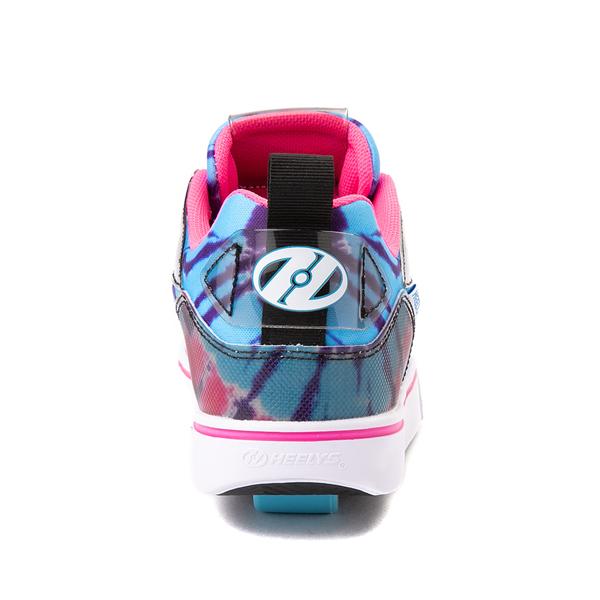 alternate view Heelys Tracer Skate Shoe - Little Kid / Big Kid - Blue / Neon Pink Tie DyeALT4