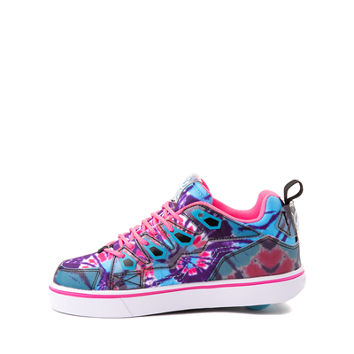 Alternate view of Heelys Tracer Skate Shoe - Little Kid / Big Kid - Blue / Neon Pink Tie Dye