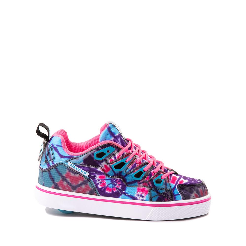 Heelys Tracer Skate Shoe - Little Kid / Big Kid - Blue / Neon Pink Tie Dye