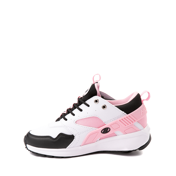 alternate view Heelys Force Skate Shoe - Little Kid / Big Kid - White / Black / PinkALT1