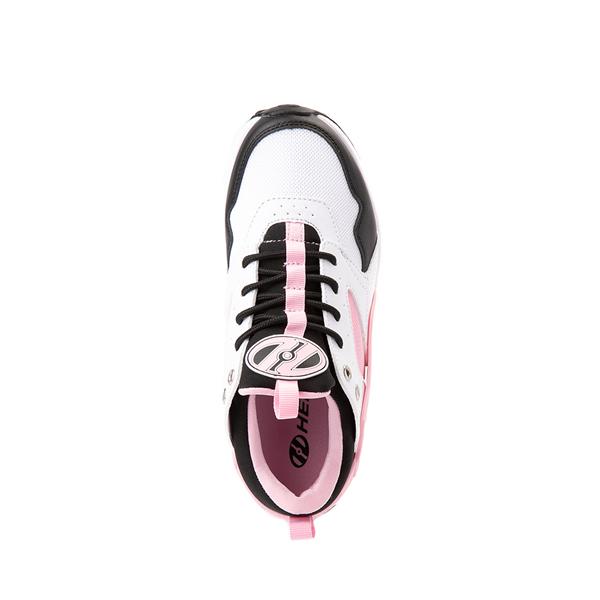 alternate view Heelys Force Skate Shoe - Little Kid / Big Kid - White / Black / PinkALT2