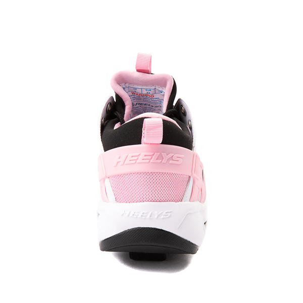 alternate view Heelys Force Skate Shoe - Little Kid / Big Kid - White / Black / PinkALT4