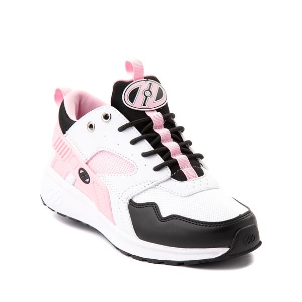 alternate view Heelys Force Skate Shoe - Little Kid / Big Kid - White / Black / PinkALT5