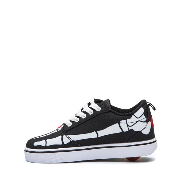 alternate view Heelys Pro 20 Skeleton Skate Shoe - Little Kid / Big Kid - BlackALT1