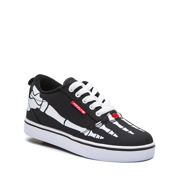 alternate view Heelys Pro 20 Skeleton Skate Shoe - Little Kid / Big Kid - BlackALT5