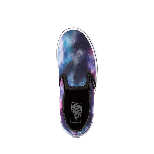 alternate view Vans Slip On Galaxy Skate Shoe - Little Kid - MulticolorALT2