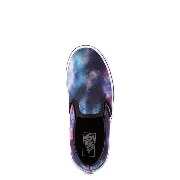 alternate view Vans Slip On Galaxy Skate Shoe - Little Kid - MulticolorALT4B