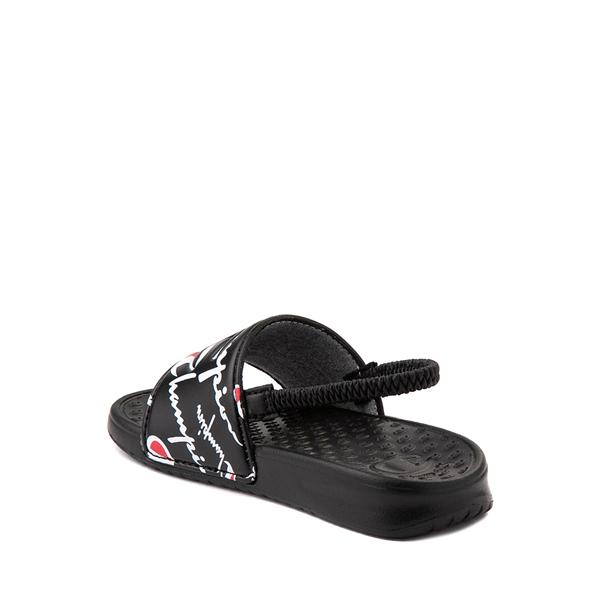 alternate view Champion IPO Warped Slide Sandal - Baby / Toddler - BlackALT1
