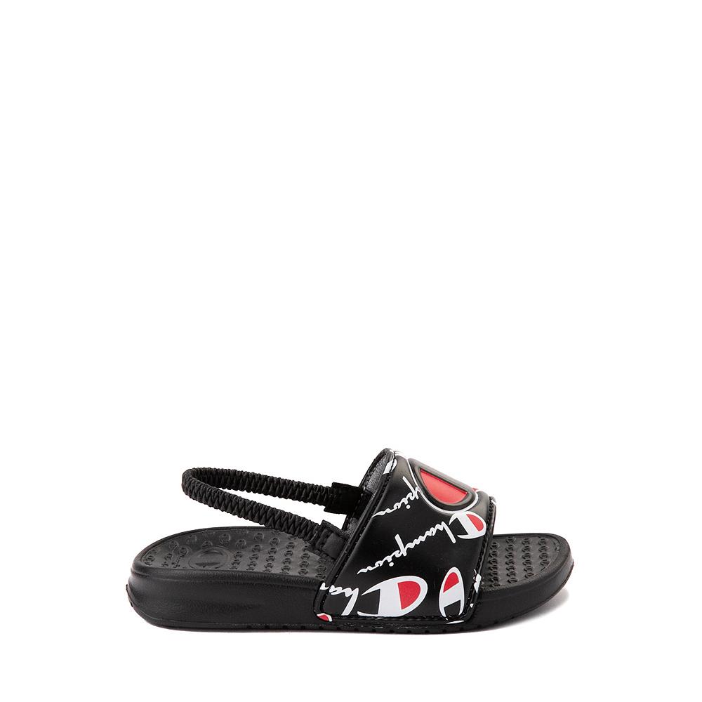 Champion IPO Warped Slide Sandal - Baby / Toddler - Black