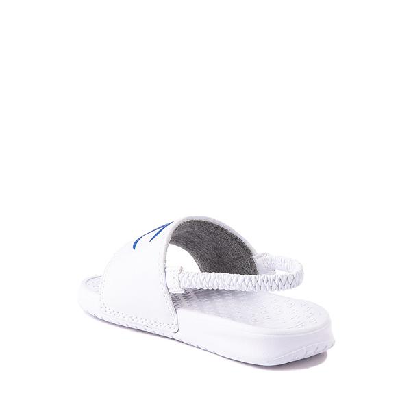 alternate view Champion IPO Slide Sandal - Baby / Toddler - WhiteALT2