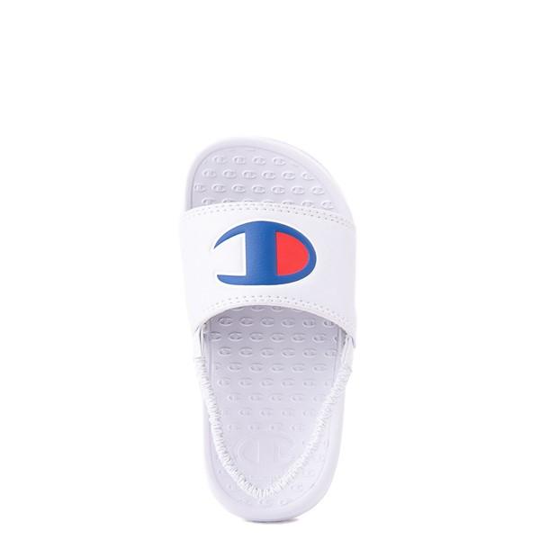 alternate view Champion IPO Slide Sandal - Baby / Toddler - WhiteALT4B