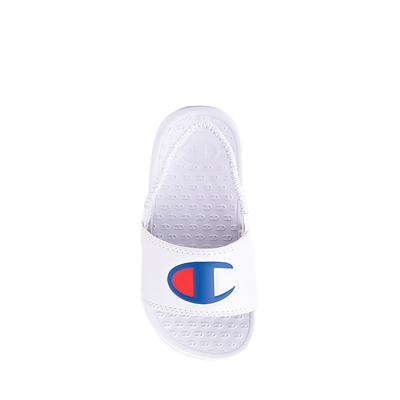 Alternate view of Champion IPO Slide Sandal - Baby / Toddler - White