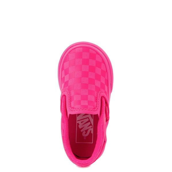 alternate view Vans Era Tonal Checkerboard Skate Shoe - Baby / Toddler - Pink GlowALT4B