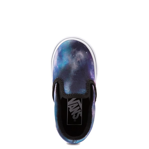alternate view Vans Slip On Galaxy Skate Shoe - Baby / Toddler - MulticolorALT4B