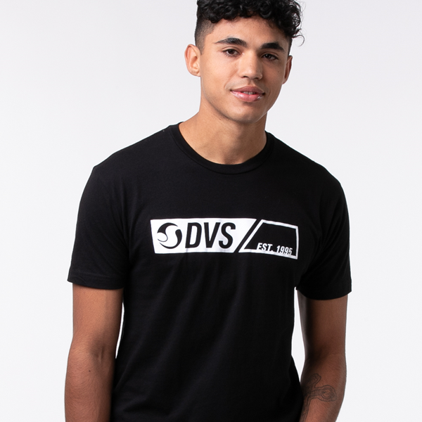 Main view of Mens DVS Est. '95 Tee - Black