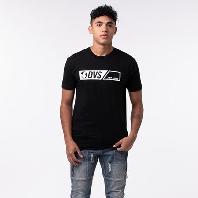 Alternate view of Mens DVS Est. '95 Tee - Black